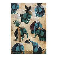 Sketchbook Elephants Скетчбук Слоны кремовые листы 100г, фото 1