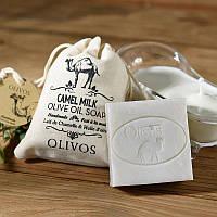 Оливковое натуральное мыло с верблюжьим молоком Olivos Camel milk  .150г