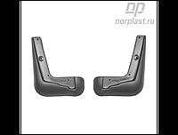 Брызговики Toyota Cоrоlla (E16) SD (13-) пер. к-т (NORPLAST)