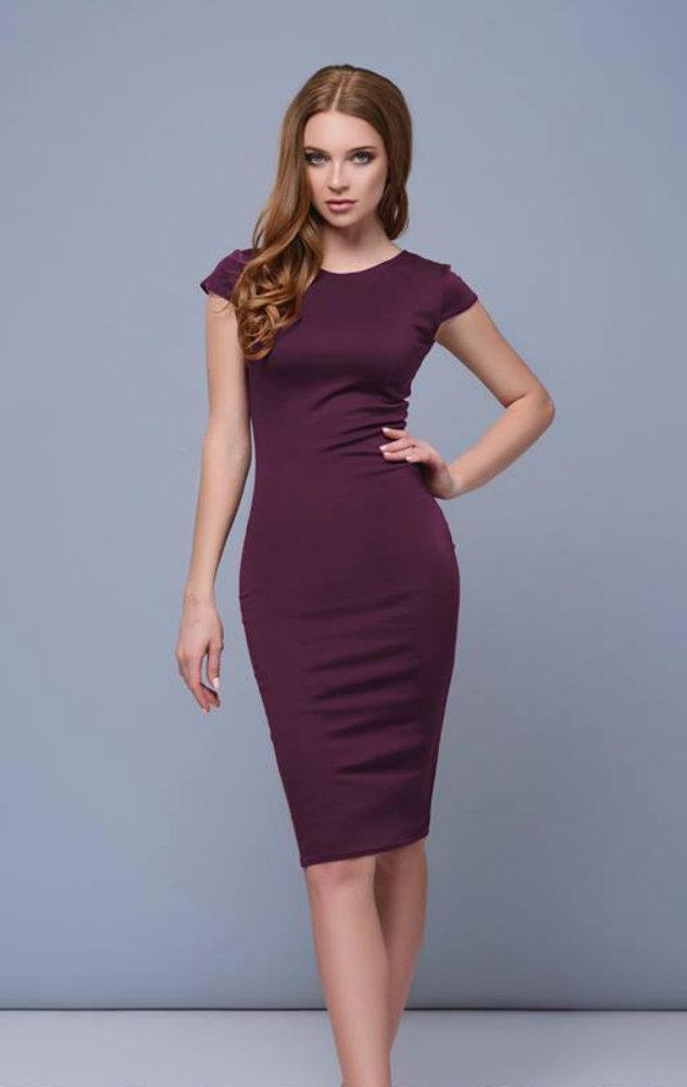 d69dedae577ee4e Платье миди футляр от производителя 42 44 46 48 50 Р - интернет-магазин  женской