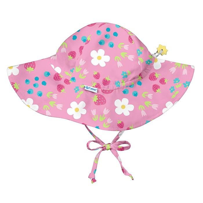 I Play - Солнцезащитная панамка Light Pink Daisy Fruit, 0-6 месяцев