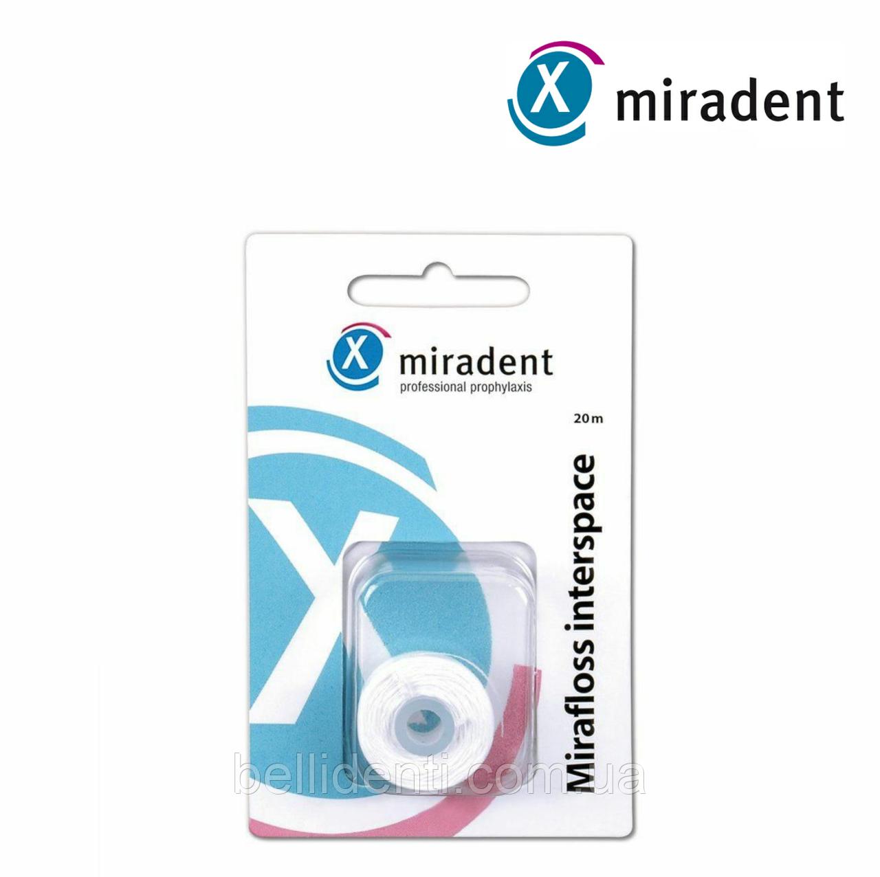Сменный флос к miradent Mirafloss Interspace (20м)