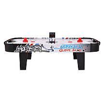 Настольный детский аэрохоккей Norton с электронным LED счетчиком - 107 х 54 х 30,5 см, фото 2