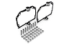 Переходные рамки Audi Q7 адаптивная - линзы Hella NEW / Hella 3R / Koito