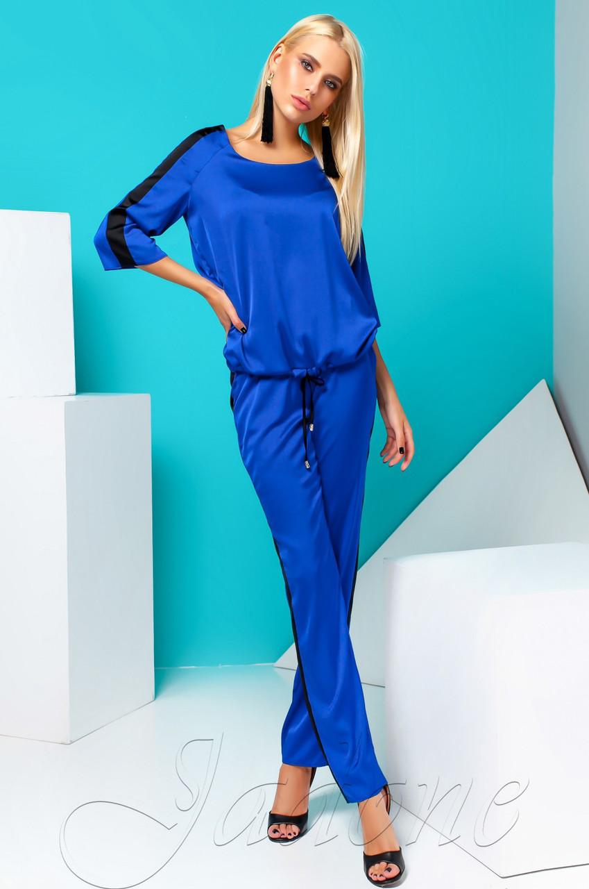 bd917c6b4ff3 Женский костюм Камелия электрик TM Jadone Fashion 42-48 размеры ...
