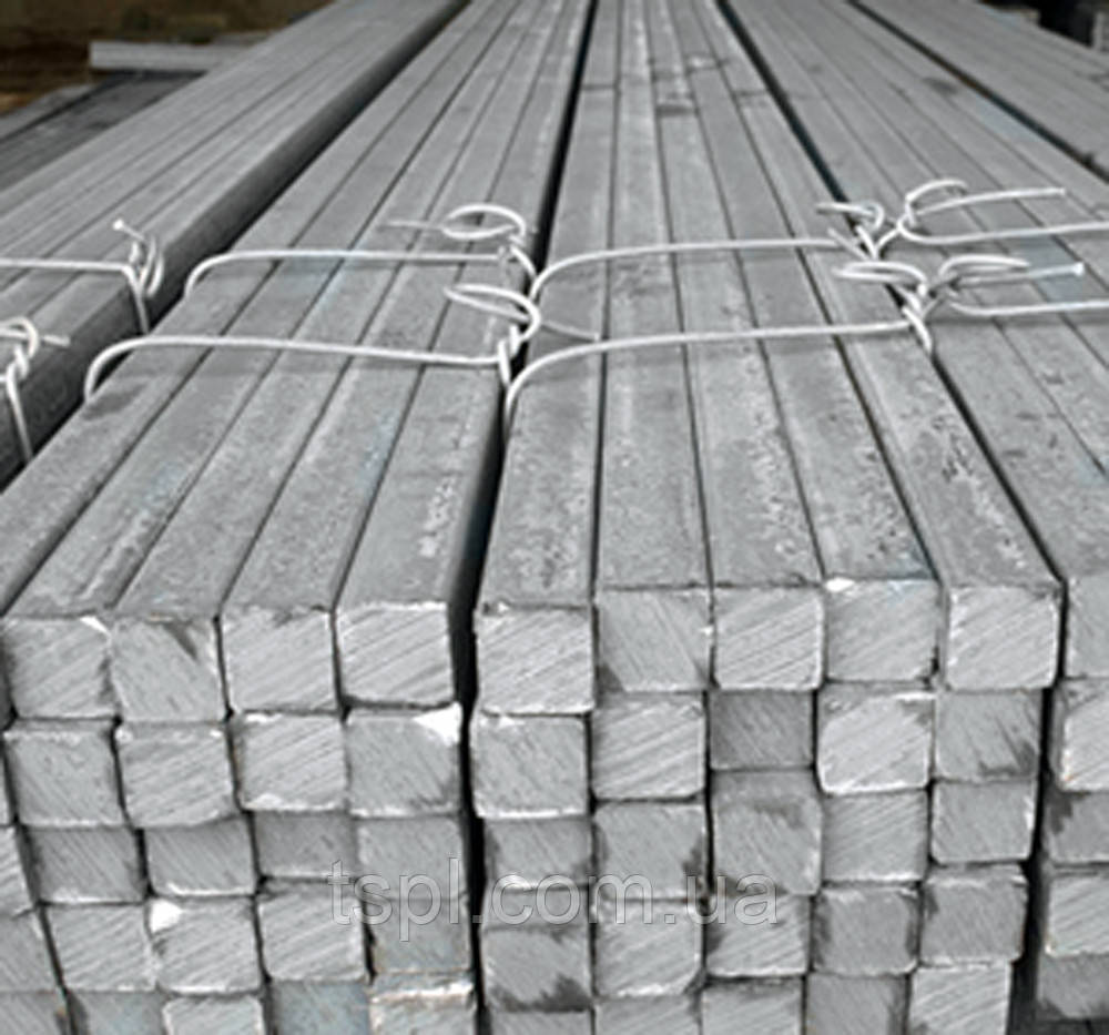 Калібрований квадрат 36х36 мм, сталь 20, Н11,