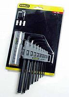 Набор ключей шестигранных Stanley HEX GRIP  9 шт (0-89-904)