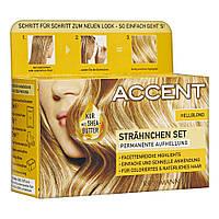 Accent Strähnchen Set Hellblond - Средство для осветления волос (для светлых волос)