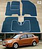 Коврики на Chevrolet Aveo '06-11 T250. Текстильные автоковрики