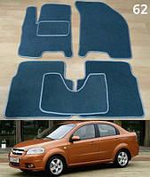 Коврики на Chevrolet Aveo '06-11 T250. Текстильные автоковрики, фото 1