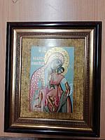 Фарфоровая икона Божья Матерь Германия