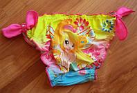 Яркие плавки для девочки Феи (разные цвета)