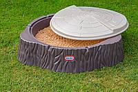 Песочница с крышкой Лесной пенек Little Tikes 644658E3
