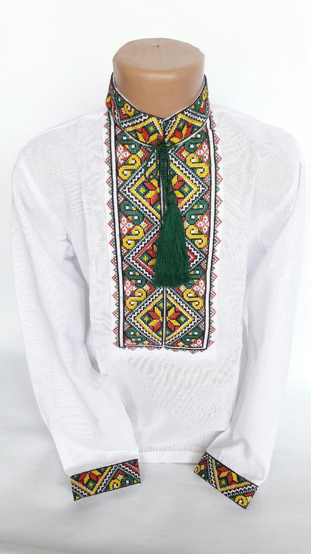 Вышиванка для мальчика с красивой вышивкой (2805/4)