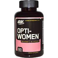 Витамины и минералы Optimum Nutrition, Opti-Women 120 капсул, фото 1