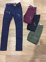 Котоновые брюки для девочек Seagull 134-164 p.p.