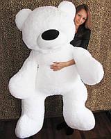 """Ведмідь-велетень сидячий """"Бублик"""" 180 см(білий)"""