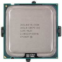 Процессор E4500 Intel Core 2 Duo  2,20 GHZ/2M/800