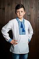Вышиванка для мальчика с отложным воротником (2805/11)
