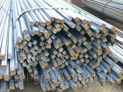 Калібрований квадрат 36х36 мм, сталь 45 h11,