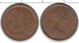 Австралия 1 цент 1967г.