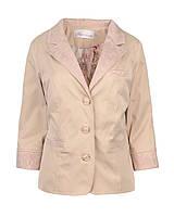 Пиджак длиный женский с гипюром
