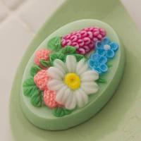 Глицериновое мыло для женщин цветы, букеты, бабочки