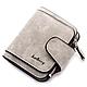 Женский замшевый кошелек бумажник  Baellerry Forever Mini, фото 6