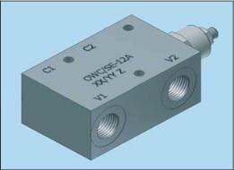 Клапаны типа overcenter с гидравлическим управлением Hydropnevmotechnika OWC/SE-12A