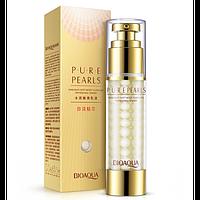 Эмульсия для лица с жемчужной пудрой Bioaqua Pure Pearls