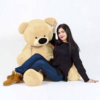 """Ведмідь-велетень сидячий """"Бублик"""" 180 див.(персиковий)"""