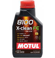Моторное масло Motul 8100 X-clean FE 5W-30 5л