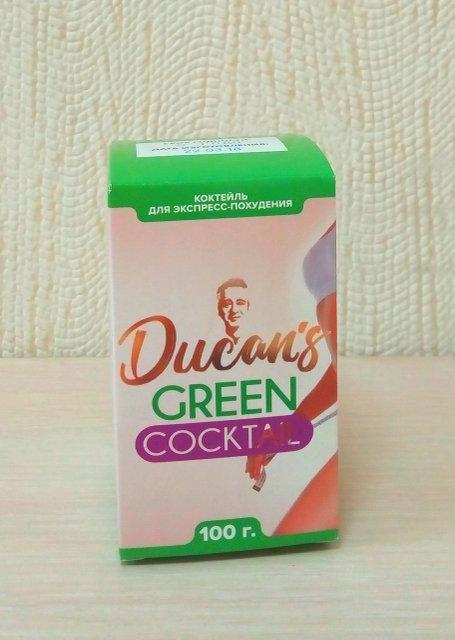 Ducan's Green Cocktail (Дюканс Грин) Коктейль для экспресс похудения 12722