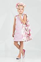 Комплект одягу для дівчинки 62-7001-2 з трояндочками Zironka, фото 1