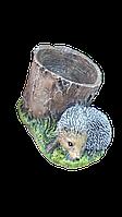 Статуэтка с кашпо Ёжик с кашпо 20 х 31 см