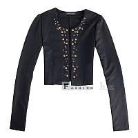 Черный пиджачок со стразами, Китай