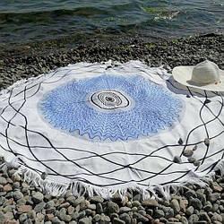 Круглые пляжные полотенца