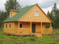 Загородный домик из каркаса