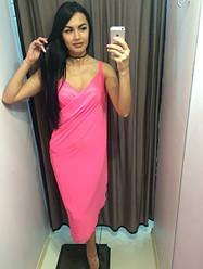 Накидка женская пляжная.Цвет:розовый, белый.Размер:единый.AB 1015