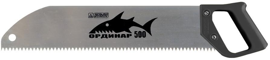 Ножовка по дереву «Ординар 500», прямой шаг 6 мм