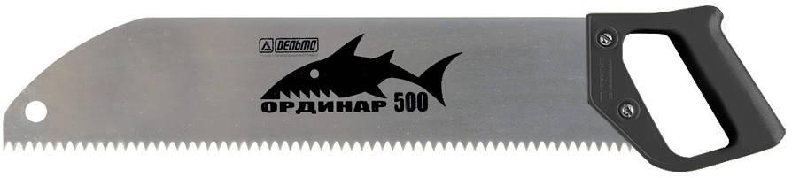 Ножовка по дереву «Ординар 500», прямой шаг 6 мм, фото 2