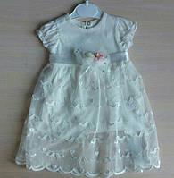 Нарядное детское платье для девочек 9-18 месяцев