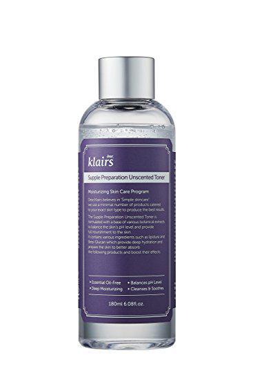 Klairs Supple Preparation Unscented Toner Тонер для чувствительной кожи