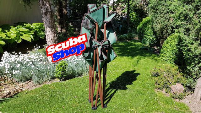 Стул складной Siesta с подстаканником (допустимая нагрузка 80 кг)
