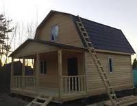 Каркасное строительство загородного домика в Днепропетровске под ключ