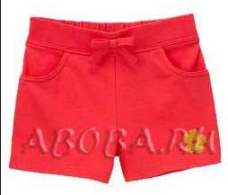 Трикотажные красные шортики с карманами (Размер XS) Crazy 8 (США)