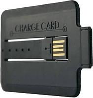 Зарядное устройство ChargeCard 30-pin to USB для iPhone 4/4S, iPhone 3G/3GS, iPad, iPad 2, New iPad