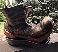 Цветочник ботинок акрил, фото 1