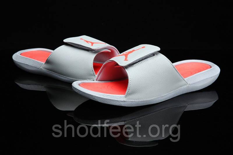 Мужские сланцы Jordan Hydro VI Grey Red