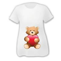 "Футболки для беременных ""Bear love"""